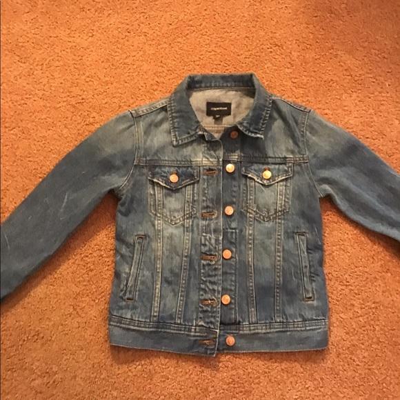 Great denim jean jacket from J Crew sz xs